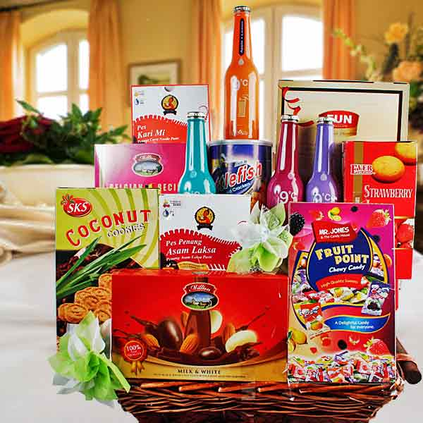 Flower Basket Delivery Singapore : Hari raya hamper delivery singapore buy hampers