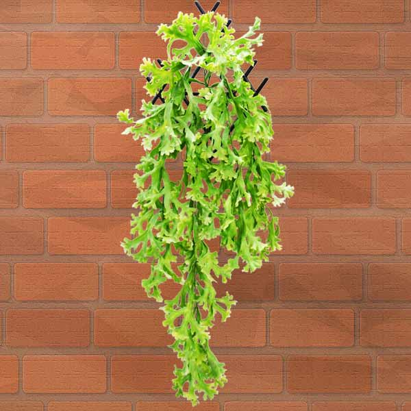 Artificial Staghorn Ferns Hanging Plant 80cm Height