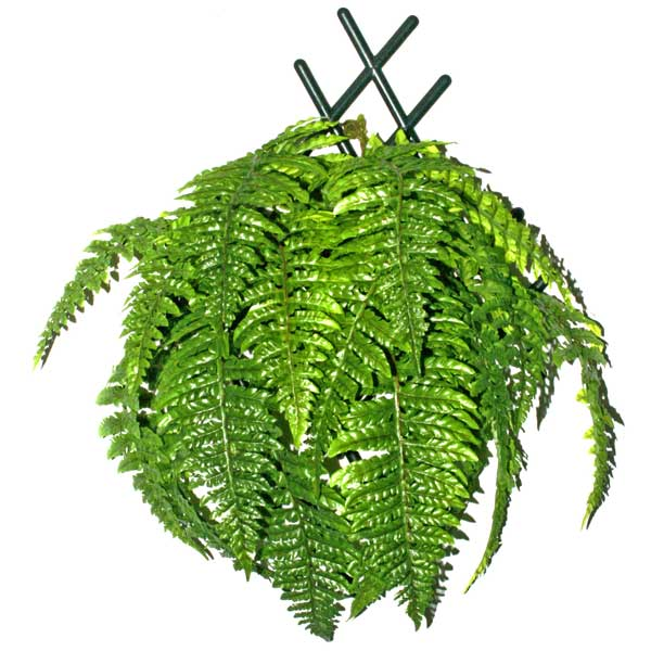 Artificial Fern Hanging Plant 50 cm Total Height