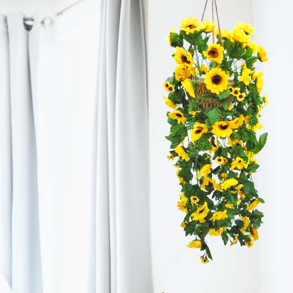 Artificial Maple Leaves Garland 6 feet Long