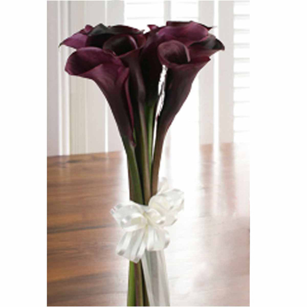 This Is A Special Order For The Bouquet As Showing In Black Orchids And Calla Lilies Roses White To Additional Items Or Change Colors