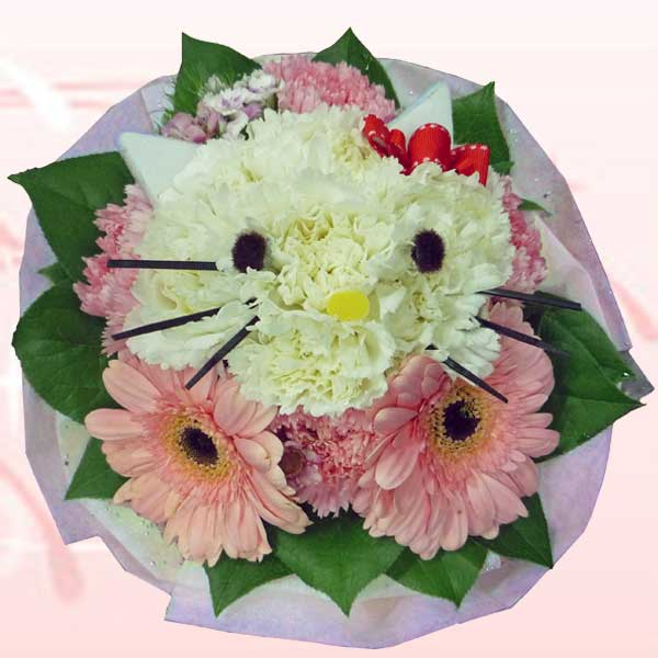 Kitty In the Flowers ( Must Order 2 Days in Advance )