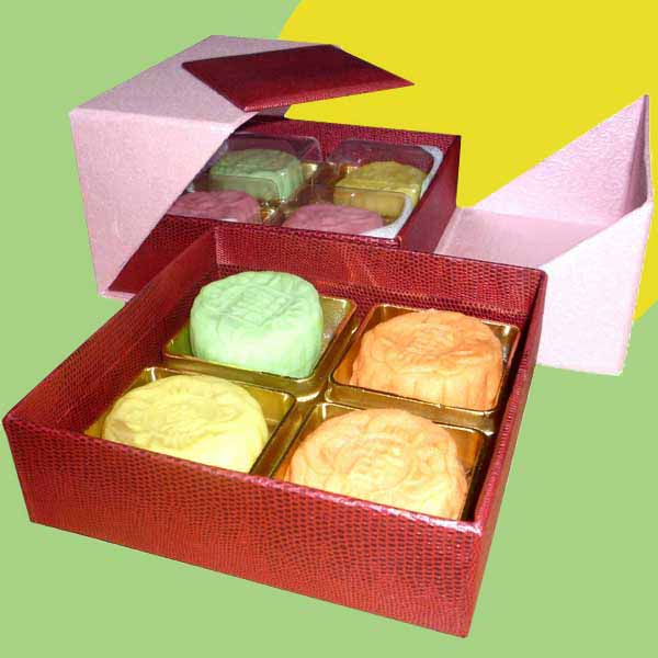 Fresh durian mini Snow Skin moon cake 8pcs/box