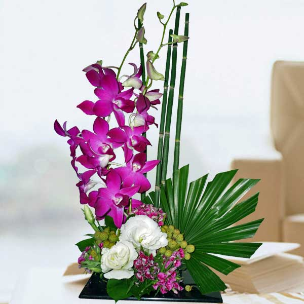 Ikebana flower flowers arrangement singapore