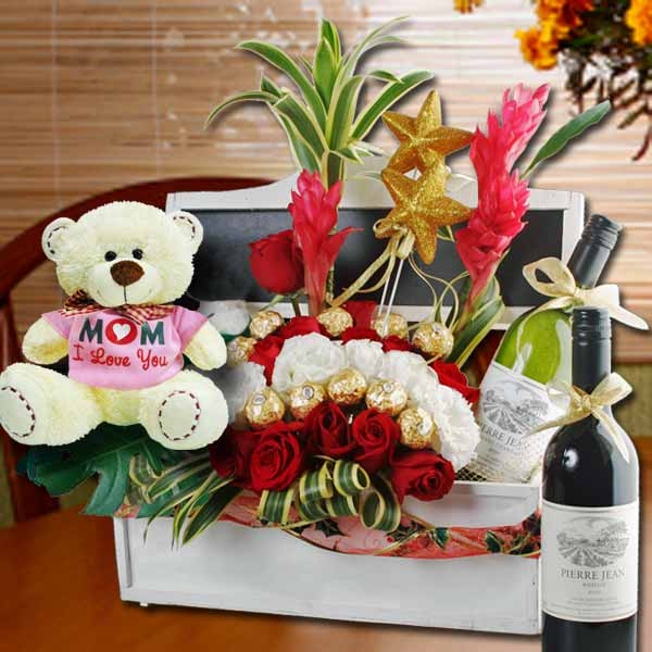 mothers day hamper wine singapore