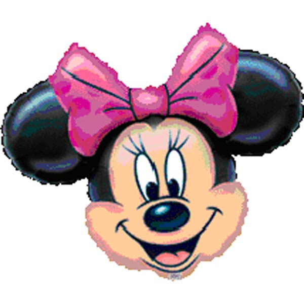 Helium filled 24 inches (Minnie-Mouse) Mylar Balloon
