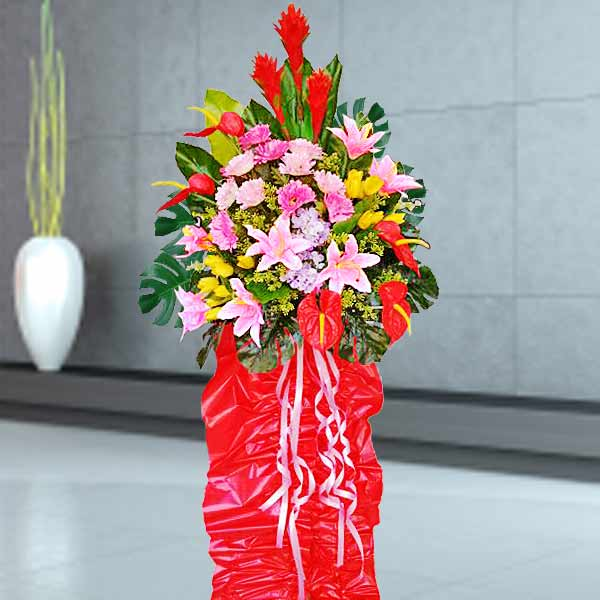 Artificial Flowers Opening Stand Arrangement