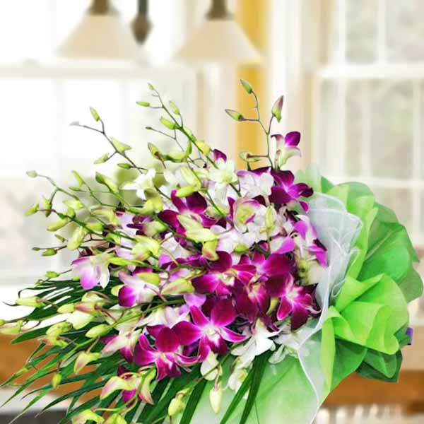 Mixed Orchid Bouquet