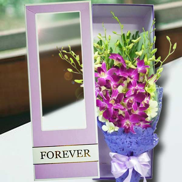 Mixed Orchid Gift Box
