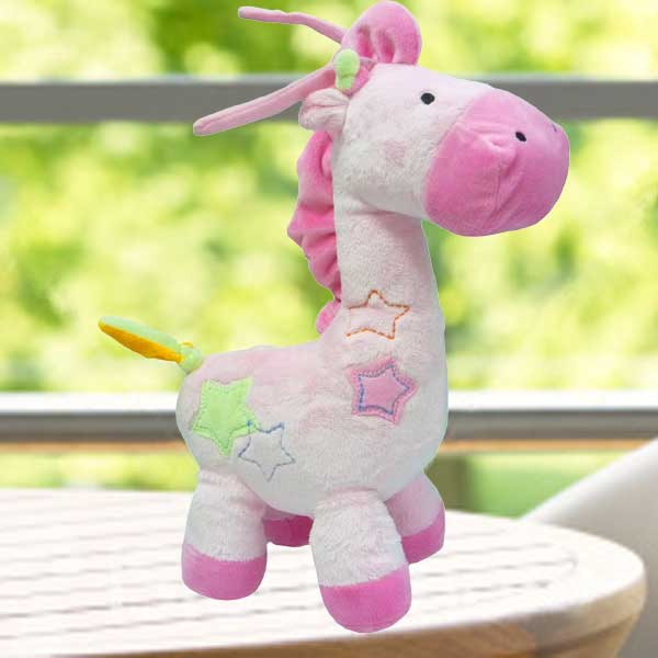 Add-on Musical Giraffe Plush Toy