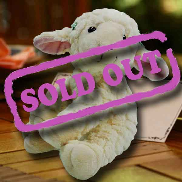 Add-On Plush Sheep Stuffed Animal 9 inches Height