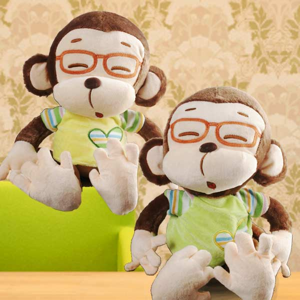 Add-On 30cm Plush Monkey ( Choose One Only )