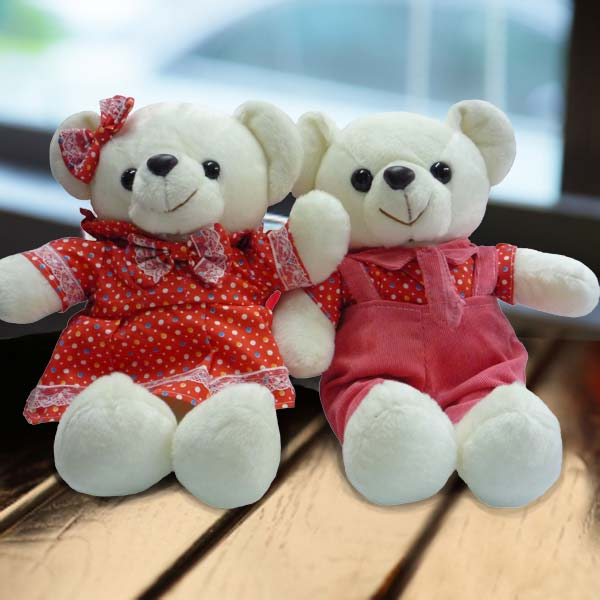 Add-on 30cm couple Bear