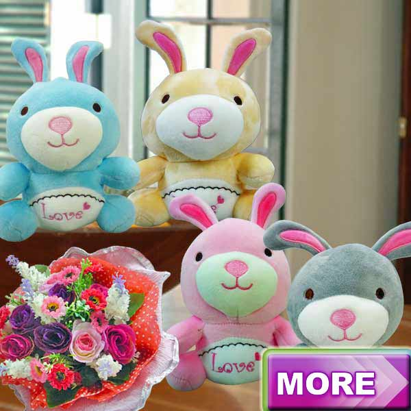 Soft Toys & Flowers
