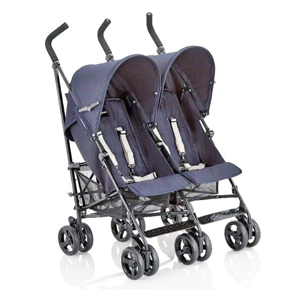 INGLESINA Twin Swift Twin Double Stroller - Blue Color