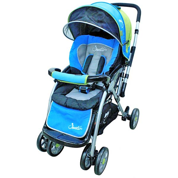 DAZZLE Baby Stroller Reversible - Blue