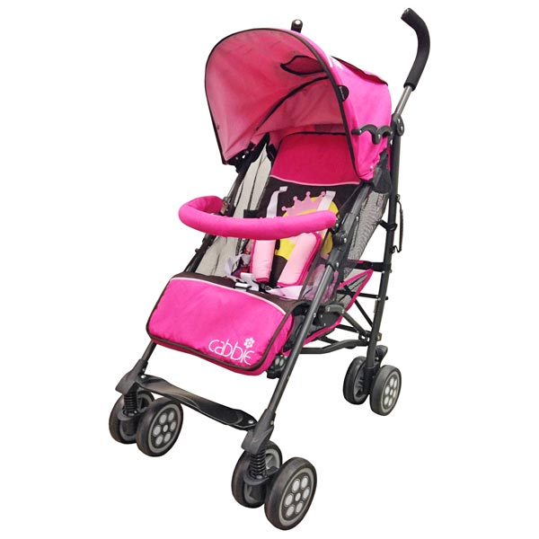 CABBIE Active Baby Stroller - Pink
