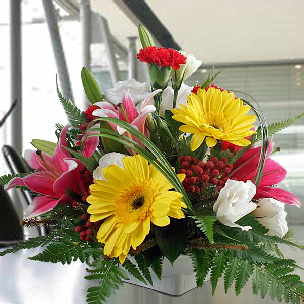 Mixed Flowers Small Arrangement By Florist Choice