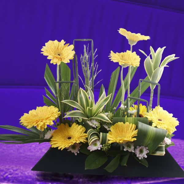 Gerbera Flowers Arrangement
