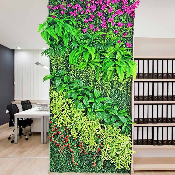 Artificial Vertical Garden Wall 1m x 3m