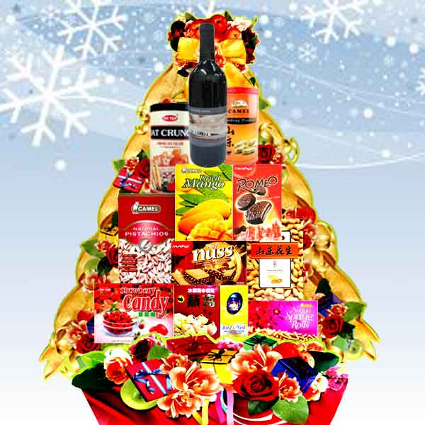 Christmas Hamper Red Wine XM0903