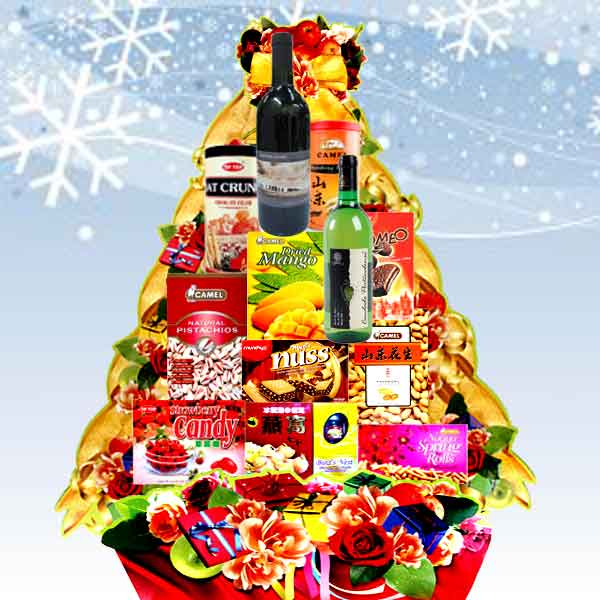 Christmas Hamper Red & White Wines XM0904