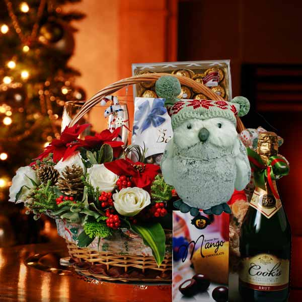 Christmas Hamper & Gift Basket XM117