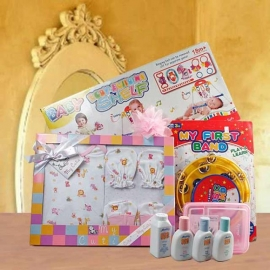 Baby Girl Gift Hamper Delivery In Singapore BB081