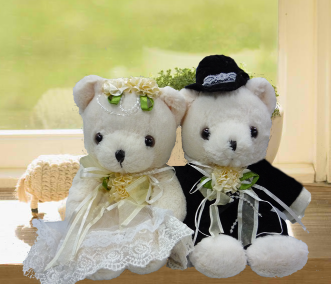 8 Inches Wedding Bears